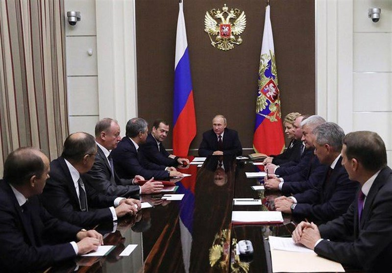 بررسی روند موفق عملیات هوایی در سوریه در نشست شورای امنیت روسیه