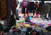پنجشنبه بازار میناب؛ از معاملات پایاپای تا رنگارنگی صنایع دستی بومی