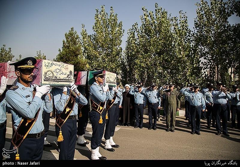 تشییع و تدفین پیکر مطهر 2 شهید دوران دفاع مقدس