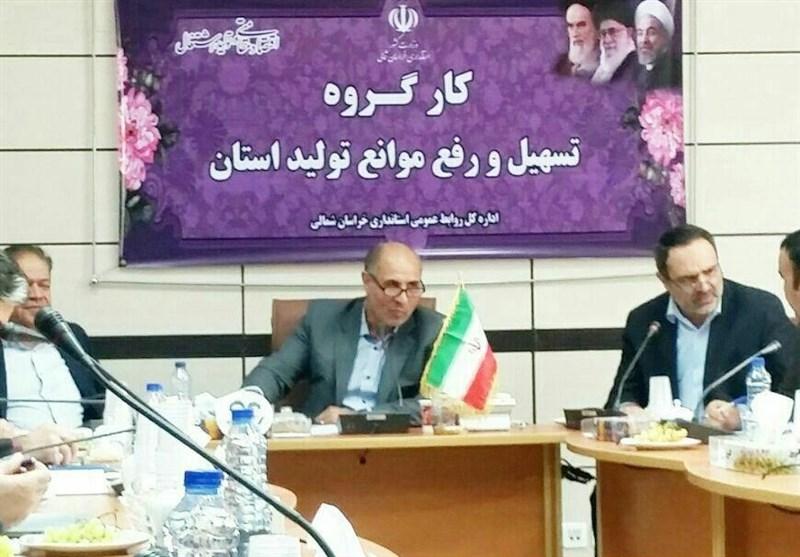 """""""مالیات و بیمه"""" مهمترین مشکل واحدهای تولیدی استان خراسان شمالی است"""