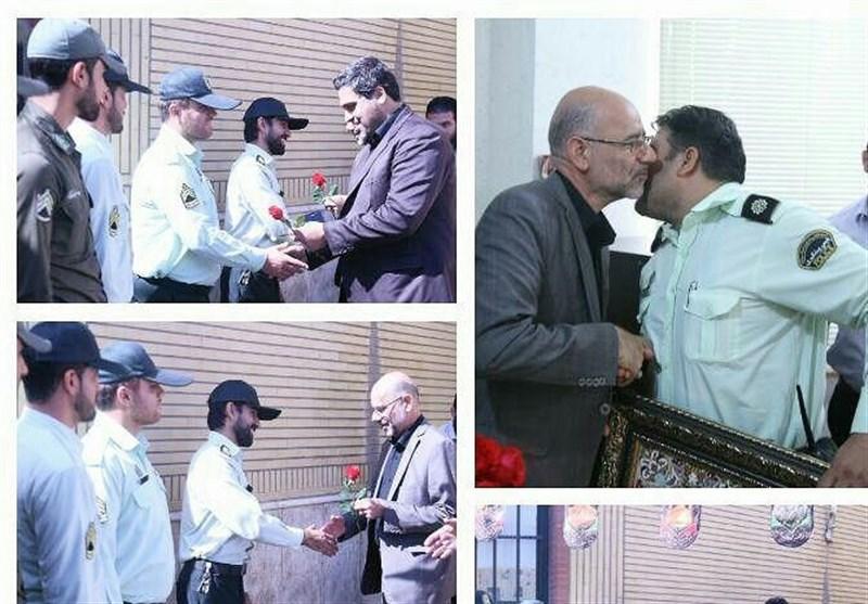 مراسم تجلیل از نیروی انتظامی قم