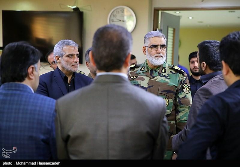 امیر پوردستان از خبرگزاری تسنیم بازدید کرد + تصاویر