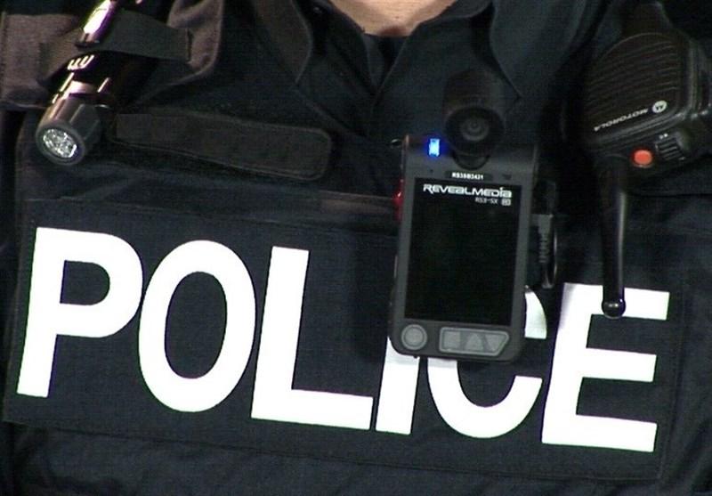 دوربین لباس پلیس
