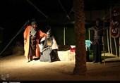 """اجرای نمایش بزرگ """"گفتوگوی آب"""" در ابرکوه به روایت تصویر"""