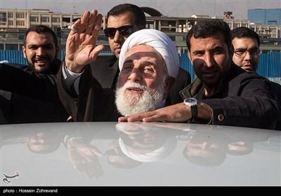 حجتالاسلام علیاکبر ناطقنوری عضو مجمع تشخیص مصلحت نظام در همایش آیتالله هاشمی رفسنجانی و 8 سال دفاع مقدس
