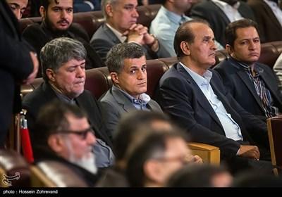 یاسر هاشمی در همایش آیتالله هاشمی رفسنجانی و 8 سال دفاع مقدس