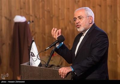 سخنرانی محمدجواد ظریف وزیر امورخارجه در همایش آیتالله هاشمی رفسنجانی و 8 سال دفاع مقدس
