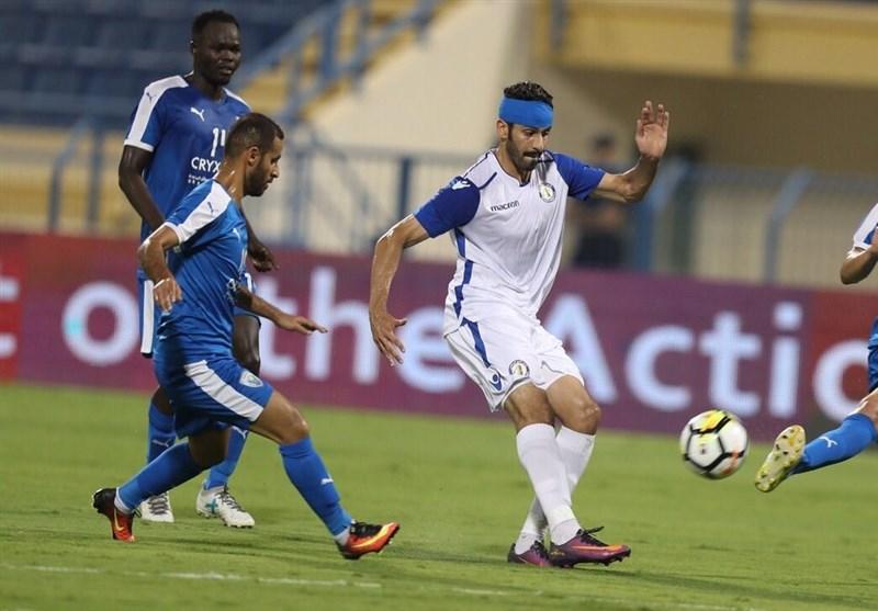 شکست سنگین یاران رفیعی و تساوی قطر با گلزنی طیبی