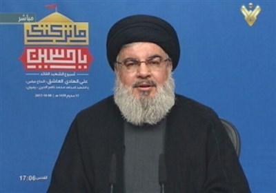 نصر الله: فی کلام الوزیر السعودی ثامر السبهان اعتراف ضمنی بقوة حزب الله الإقلیمیة