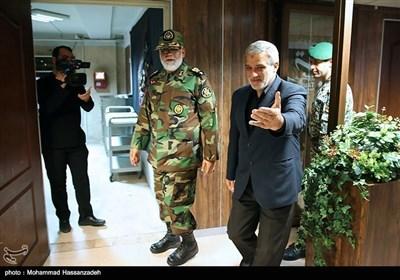 بریگیڈیئر جنرل احمد رضا پوردستان نے تسنیم نیوز کا دورہ کیا