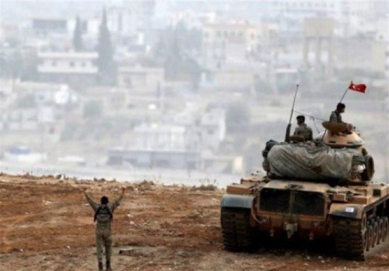 ارتش ترکیه مواضع افراد مسلح کُرد در شمال غرب سوریه را هدف قرار داد