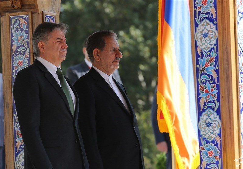 Iran Sees No Restriction on Expansion of Ties with Armenia: VP