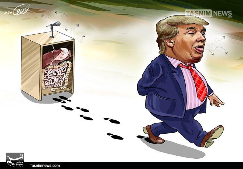 تلگرام کاریکاتور/ تیلرسون: ترامپ «احمق» است - اخبار تسنیم - Tasnim