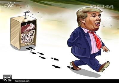 کاریکاتور/ تیلرسون: ترامپ «احمق» است