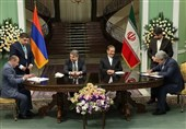 Iran, Armenia Ink Three Cooperation Agreements in Various Fields