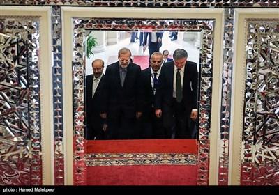 دیدار کارن کاراپتیان نخست وزیر ارمنستان با علی لاریجانی رئیس مجلس شورای اسلامی