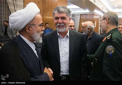 سید عباس صالحی وزیر فرهنگ و ارشاد اسلامی در نشست هماهنگی برگزاری مراسم چهلمین سالگرد پیروزی انقلاب اسلامی