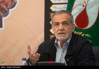 سخنرانی مسعود پزشکیان نایب رئیس مجلس در نشست هماهنگی برگزاری مراسم چهلمین سالگرد پیروزی انقلاب اسلامی