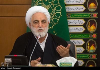 سخنرانی حجتالاسلام محسنیاژهای سخنگوی قوه قضائیه در نشست هماهنگی برگزاری مراسم چهلمین سالگرد پیروزی انقلاب اسلامی