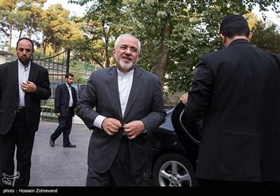 محمدجواد ظریف وزیر امور خارجه در نشست هماهنگی برگزاری مراسم چهلمین سالگرد پیروزی انقلاب اسلامی
