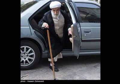 حضور آیتالله احمد جنتی رئیس شورای هماهنگی تبلیغات اسلامی درنشست هماهنگی برگزاری مراسم چهلمین سالگرد پیروزی انقلاب اسلامی