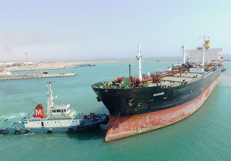 نفتکش 25 هزار تنی قیر صادراتی در بندر خلیج فارس پهلو گرفت
