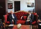 زنگنه و نخست وزیر ارمنستان