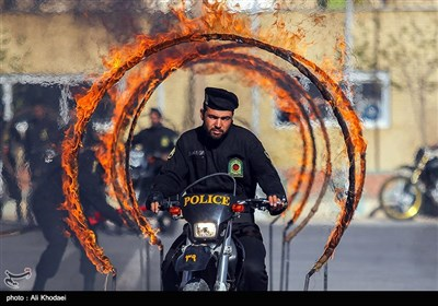 Iran Police Elite Forces Hold Exercise