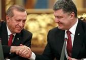 چرت اردوغان در کنفرانس خبری با همتای اوکراینی + فیلم