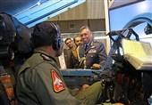 بازدید فرمانده نیروی هوایی عمان از پایگاه هوایی شهید لشکری + تصاویر