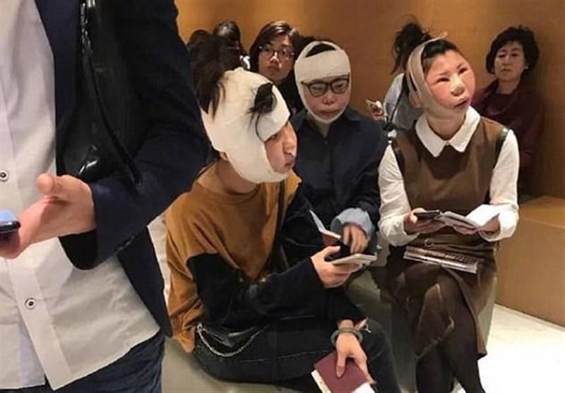 عاقبت خندهدار جراحی پلاستیک سه زن چینی + تصاویر