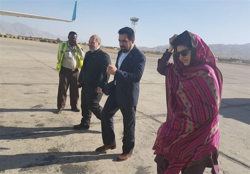 صوبہ بلوچستان کی اسپیکر ایک اعلیٰ وفد کے ہمراہ تہران پہنچ گئیں