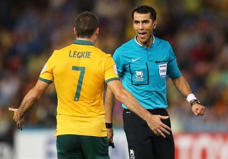 دلیل تغییر داور بازی استرالیا - سوریه در جریان بازی مشخص شد