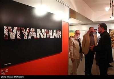 افتتاح نمایشگاه پوستر میانمار