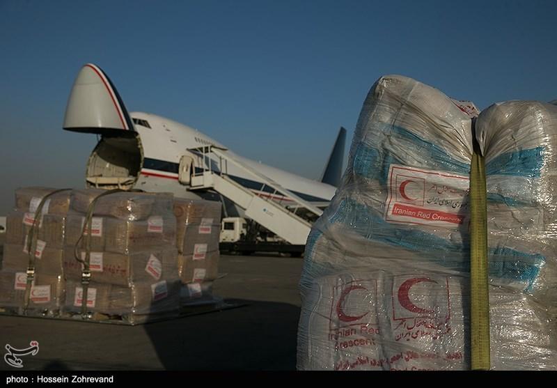 بارگیری 50 تن دارو و تجهیزات پزشکی ایران برای ارسال به عربستان