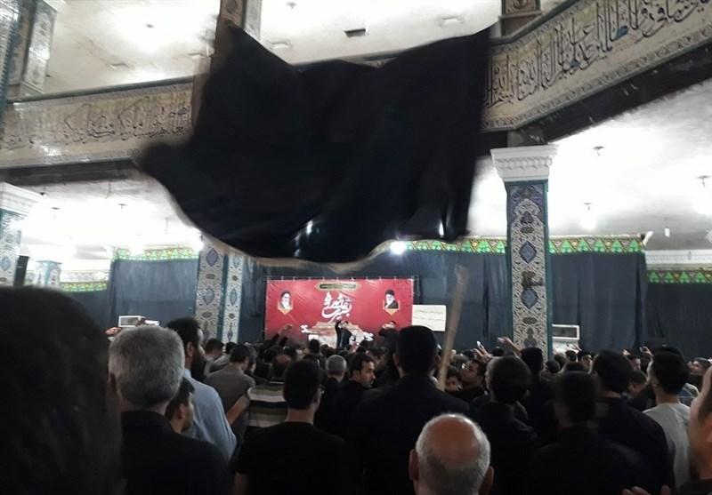 نوحه خوانی نزار قطری در بزرگداشت شهید مدافع حرم