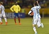 آرژانتین با هتتریک مسی به جامجهانی رسید، اروگوئه و کلمبیا صعود کردند/ پرو حریف نیوزیلند در پلیآف شد