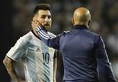 سامپائولی: مسی بهترین بازیکن تاریخ است/ فوتبال، جام جهانی را به او بدهکار بود