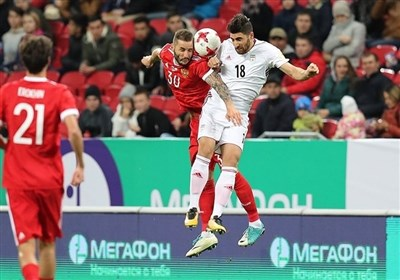 ایران 1 - 1 روسیه