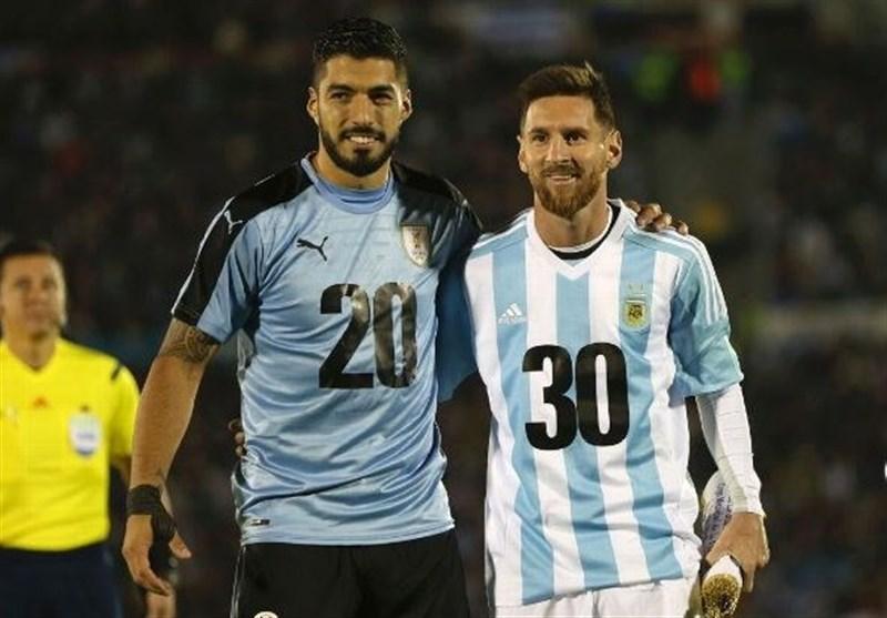 مسی و سوارس رکوردداران گلزنی در انتخابی جام جهانی در آمریکای جنوبی شدند