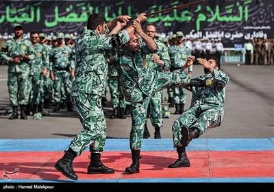 مانور یگانهای حفاظت نیروی انتظامی