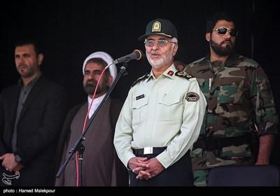 سخنرانی سردار اسکندر مومنی جانشین فرمانده ناجا در گردهمایی یگانهای حفاظت نیروی انتظامی