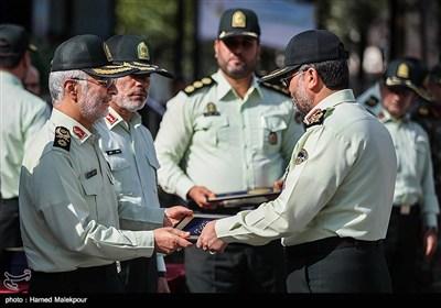 تقدیر از فرماندهان یگانهای حفاظت نیروی انتظامی توسط سردار اسکندر مومنی جانشین فرمانده ناجا