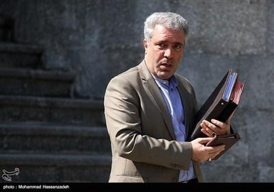 علی اصغر مونسان رئیس سازمان میراث فرهنگی در حاشیه جلسه هیئت دولت