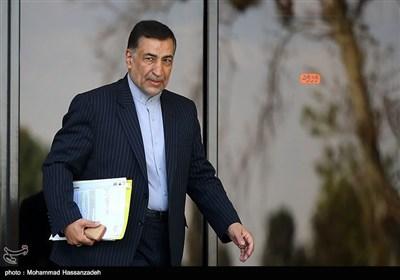 سید علیرضا آوایی وزیر دادگستری در حاشیه جلسه هیئت دولت