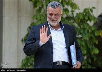 محمود حجتی وزیر جهاد کشاورزی در حاشیه جلسه هیئت دولت