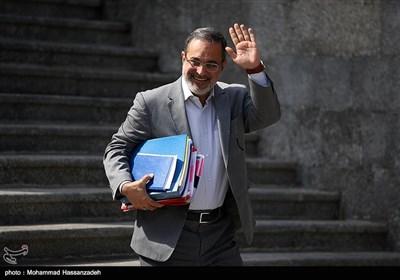 سید محمد بطحایی وزیر آموزش و پرورش در حاشیه جلسه هیئت دولت