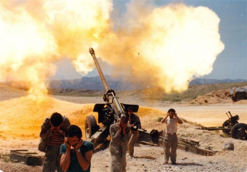 توپخانه سپاه در دوران دفاع مقدس
