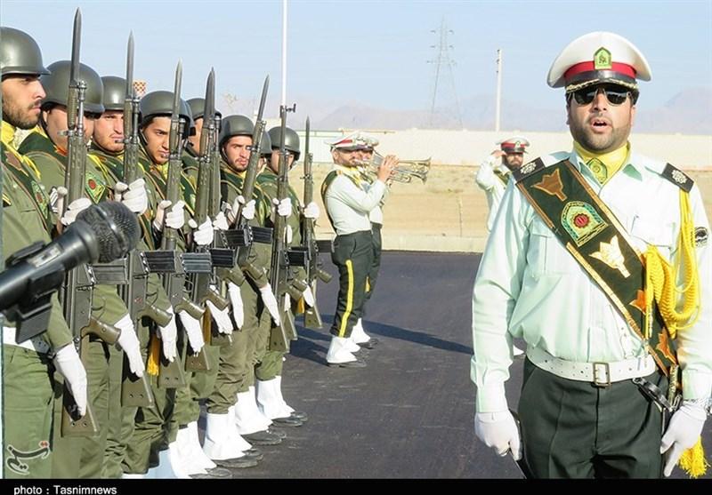 صبحگاه مشترک هفته نیروی انتظامی دامغان