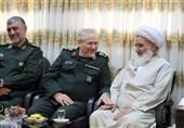سرلشکر رحیمصفوی با نماینده ولی فقیه در استان کرمانشاه دیدار کرد